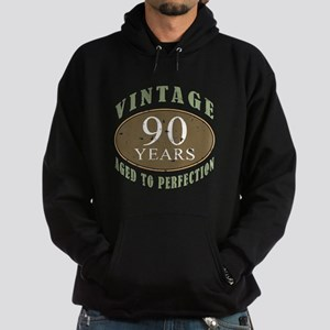 Vintage 90th Birthday Hoodie (dark)