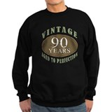 90th birthday Sweatshirt (dark)