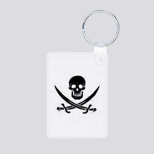 Jolly Roger Aluminum Photo Keychain