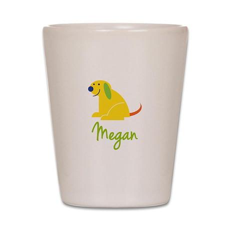 Megan Loves Puppies Shot Glass