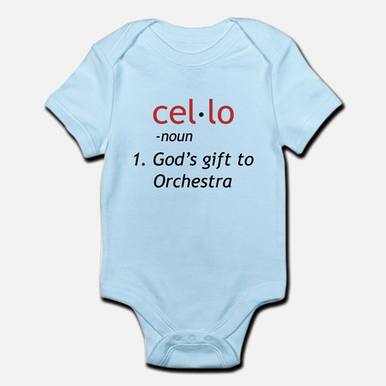 Cello Definition Infant Bodysuit