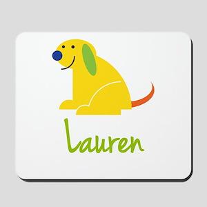 Lauren Loves Puppies Mousepad