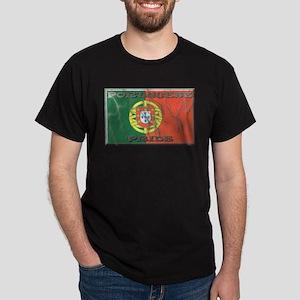 Portugal#1 Black T-Shirt