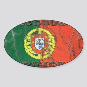Portugal#1 Oval Sticker