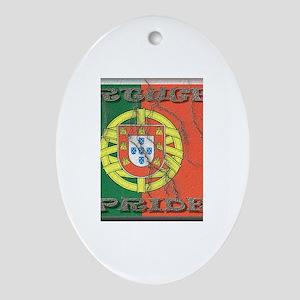 Portugal#1 Oval Ornament