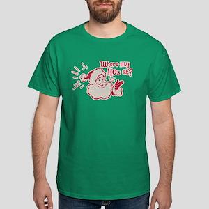 Where My Hos At? Dark T-Shirt