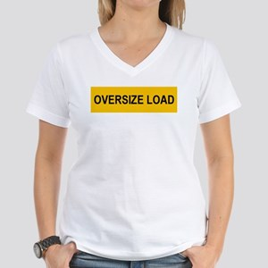 Oversize Load Women's V-Neck T-Shirt