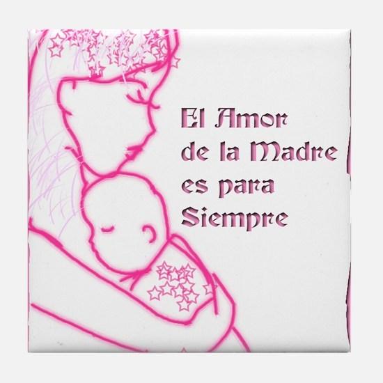 Amor de Madre Tile Coaster