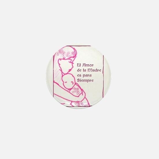 Amor de Madre Mini Button