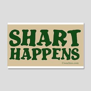 Shart Happens 22x14 Wall Peel