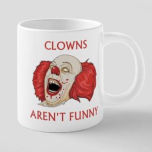 Clowns Aren't Funny Mugs