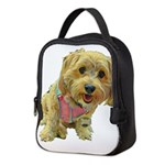 what up dog Neoprene Lunch Bag