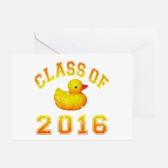 Class Of 2016 Duckie Greeting Card