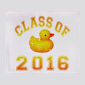 Class Of 2016 Duckie Throw Blanket