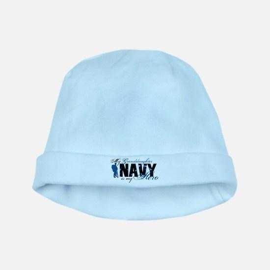 Granddaughter Hero3 - Navy baby hat