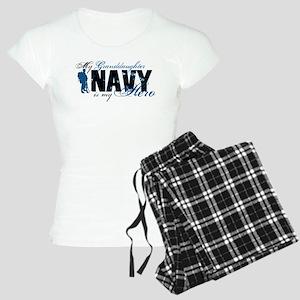 Granddaughter Hero3 - Navy Women's Light Pajamas