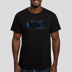 Granddaughter Hero3 - Navy Men's Fitted T-Shirt (d