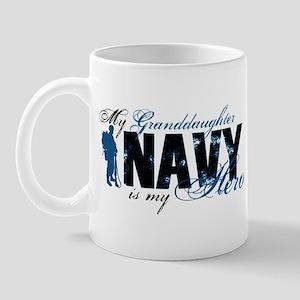 Granddaughter Hero3 - Navy Mug