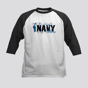 Granddaughter Hero3 - Navy Kids Baseball Jersey