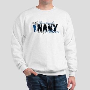Granddaughter Hero3 - Navy Sweatshirt