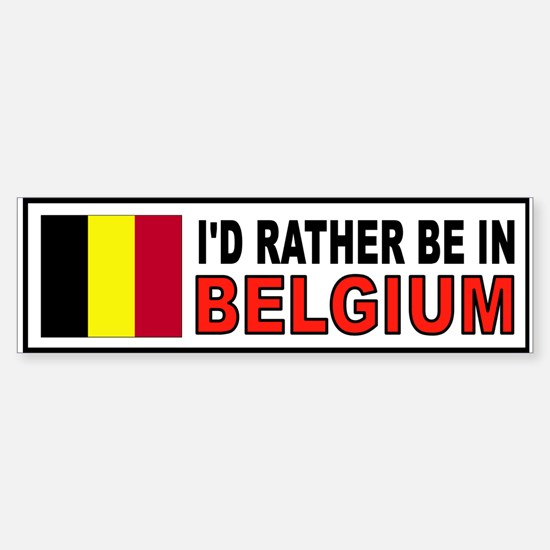 Unique Flemish Sticker (Bumper)