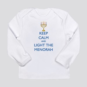 Keep Calm and Light the Menorah Long Sleeve Infant
