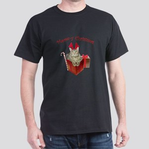 Meow-y Christmas Dark T-Shirt