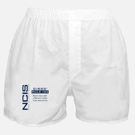 NCIS Gibbs' Rule #23 Boxer Shorts