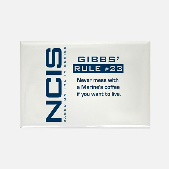 NCIS Gibbs' Rule #23 Rectangle Magnet