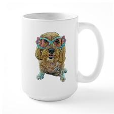 rose colored glasses Mugs