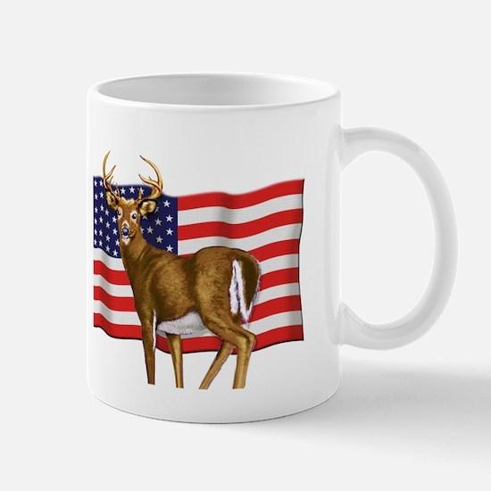 American White Tail Deer Buck Mug