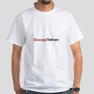 OccupyTehran White T-Shirt