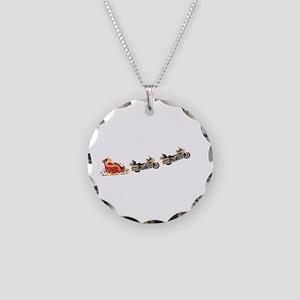 GWSanta Necklace Circle Charm