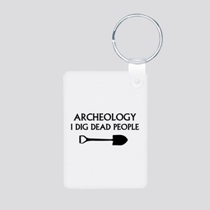 Archeology Aluminum Photo Keychain