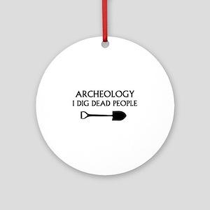 Archeology Ornament (Round)
