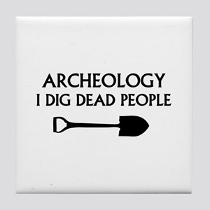Archeology Tile Coaster