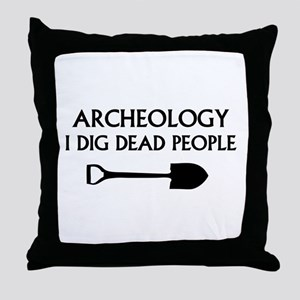 Archeology Throw Pillow