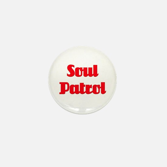 Soul Patrol Mini Button