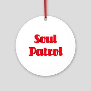 Soul Patrol Ornament (Round)