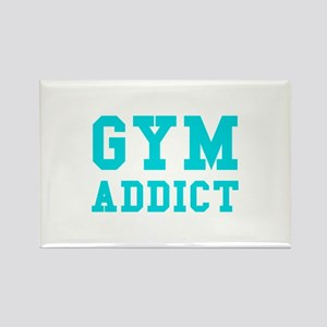 GYM ADDICT Rectangle Magnet