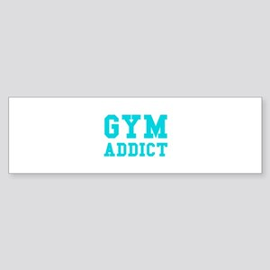 GYM ADDICT Sticker (Bumper)
