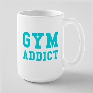 GYM ADDICT Large Mug