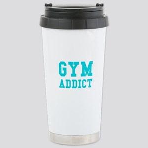 GYM ADDICT Stainless Steel Travel Mug