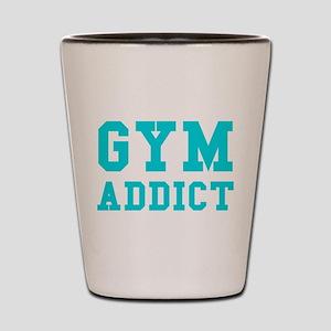 GYM ADDICT Shot Glass