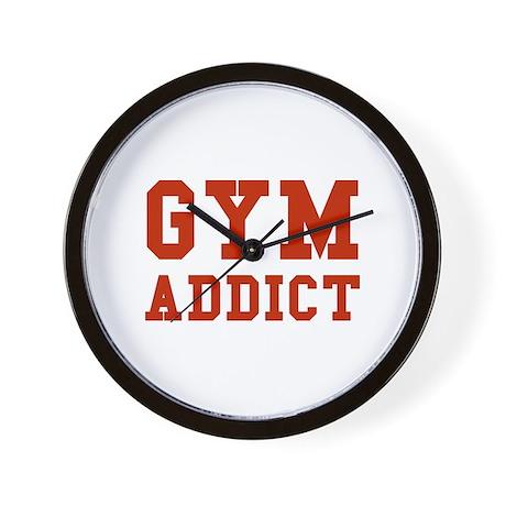GYM ADDICT Wall Clock