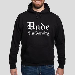 Dude University Gothic Hoodie (dark)