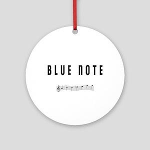 BLUE NOTE Ornament (Round)