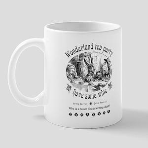 Wonderland tea party Mug 1