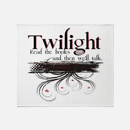 Read a Book, Twilight Throw Blanket