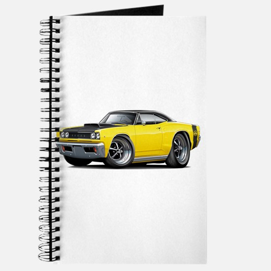 1968 Super Bee Yellow Car Journal